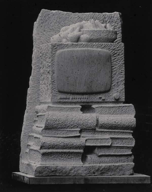 (97x69x48cm) Ancaster Stone, 1985 (Private Collection)