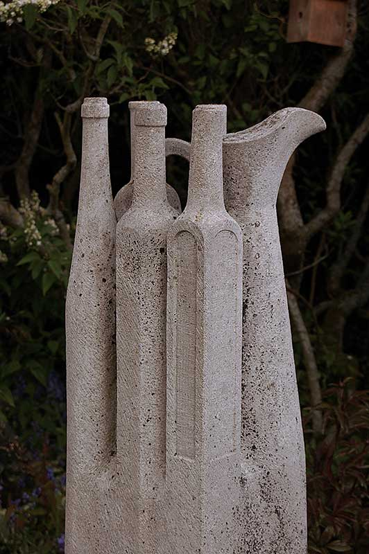(160cm High) San Stefano Limestone, 1985 (Private Collection)