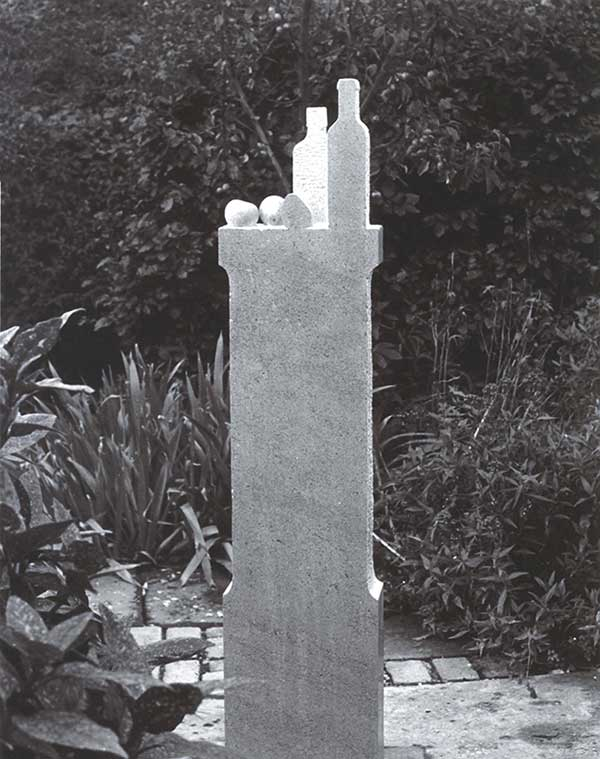 (160cm High) San Stefano Limestone, 1982 (Destroyed)