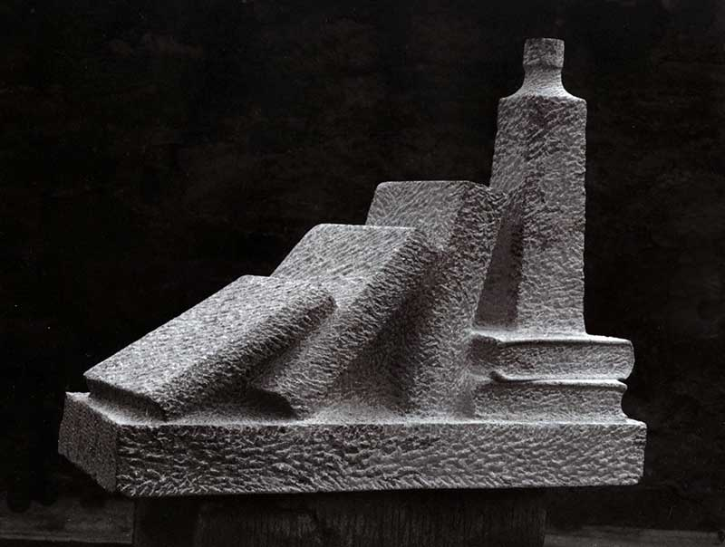 (66cm Long) San Stefano Limestone, 1981 (Private Collection)