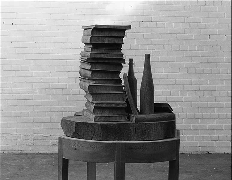(160cm High on stand) Elm, 1979