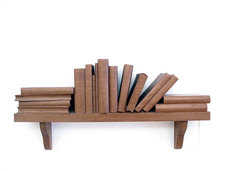 (190x590x105mm) Teak, 1999 (Private Collection)